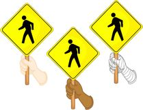 Traffic sign boards Royalty Free Stock Photos