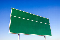Traffic sign, driving direction Stock Images