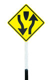 Traffic sign  Dual Carriage Way Stock Images