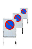 Traffic sign no park Stock Images