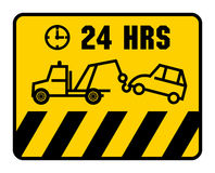 Traffic sign - no parking Royalty Free Stock Images