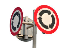 Traffic sign Royalty Free Stock Photos