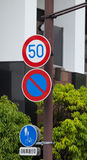 Traffic Sign. S Royalty Free Stock Image