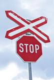 Traffic sign Stop Royalty Free Stock Photos