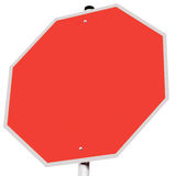 Traffic sign stop symbol Royalty Free Stock Photography