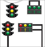 Traffic sign of  straight Stock Image