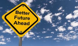 Better Future Ahead Royalty Free Stock Photo