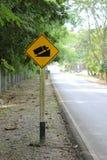 Traffic sign. Stock Photos