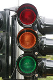 Traffic signal. Close up of traffic signal Stock Photography