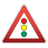 Traffic signal Royalty Free Stock Images