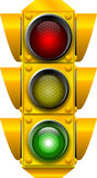 Traffic_signal_GO Fotografia Stock