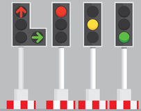 Traffic Signal Lights Royalty Free Stock Images