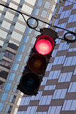 Traffic Signal showing Red Royalty Free Stock Photo