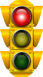 Traffic_signal_STOPP Lizenzfreie Stockfotografie