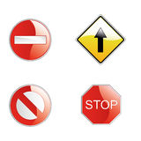 Traffic signals Stock Image