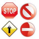 Traffic signals Royalty Free Stock Photos
