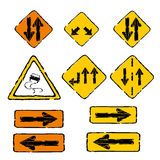 Traffic signals Royalty Free Stock Image