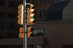 Traffic signals Stock Images