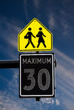 Traffic Signs Stock Image
