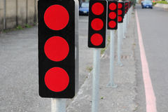 Traffic signs Stock Images