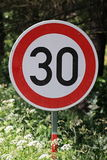 Traffic signs. In the Czech Republic royalty free stock photo