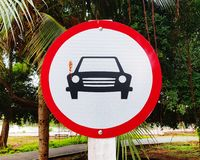 Traffic signs and road signs. Traffic signs road transpotation vehicle signal street park car parking car-park outdoor road-sign traffic-signs icon auto circle royalty free stock photography