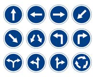 Traffic Signs Set - Vector Stock Photography