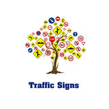 Traffic signs Royalty Free Stock Photos