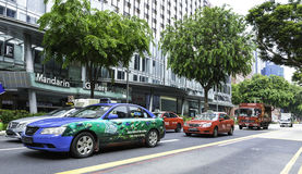 The traffic in Singapore, Asia Stock Photography