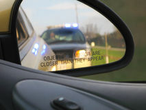 Traffic Stop Royalty Free Stock Photography