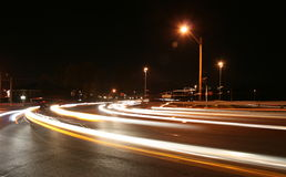 Traffic Streaks Royalty Free Stock Image