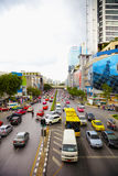 Traffic on street - east city Royalty Free Stock Images