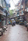 Traffic on a street in Jodhpur Royalty Free Stock Photo