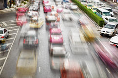Traffic on the streets. Bangkok Stock Image