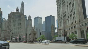 Traffic on the Streets of Chicago Time Lapse stock footage