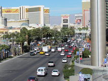 Traffic on the Strip Royalty Free Stock Image
