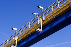 Traffic surveillance Royalty Free Stock Photo