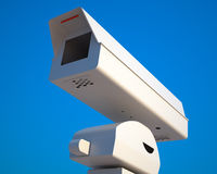 Traffic surveillance camera Royalty Free Stock Photo