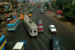 Traffic system in India Stock Photography