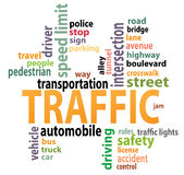 Traffic tags Royalty Free Stock Photos