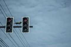 The traffic tell must be stop now royalty free stock photography