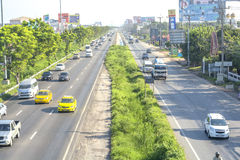 Traffic in Thailand Royalty Free Stock Image