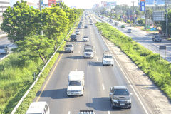Traffic in Thailand Stock Photos