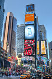 Traffic at Times Square Royalty Free Stock Photo