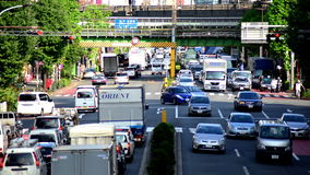 Traffic in Tokyo stock footage