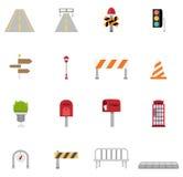 Traffic-transportation icon set  Stock Photo