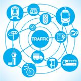 Traffic and transportation Royalty Free Stock Photos