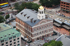 Faneuil Hall, Boston, USA Stock Image