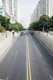 Traffic tunnel Stock Photo