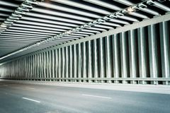 Traffic tunnel Stock Photography